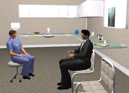 another dimension to clinical skills education using virtual humans simulation and acting concepts to enhance standardized patient training